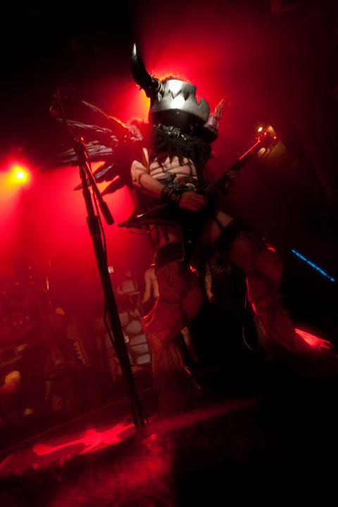 GWAR onstage